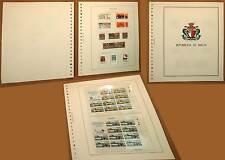 MALTA REPUBBLICA FRANCOBOLLI NUOVI MNH** 1975 / 1983 + FOGLI MARINI + CARTELLA