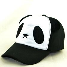 Hot Cute Panda Baseball Cap Hat For Women Ladies Girl Black Cotton Adjustable