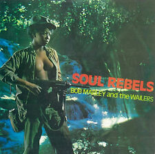 BOB MARLEY And THE WAILERS Soul Rebels TROJAN RECORDS Sealed Vinyl Record LP