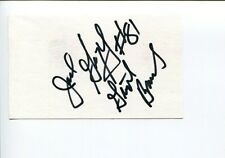 Jack Gregory New York Giants Cleveland Browns Mississippi HOF Signed Autograph
