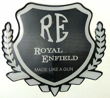Ruberied Waterproof RE Made like gun Bike sticker decal For bullet royal enfield