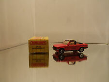 1983 Matchbox BMW Cabriolet 323i MB 39 - Red - Mint Loose W/ Box 1/58 Scale