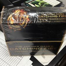 THE HUNGER GAMES CATCHING FIRE Movie Card Wax Box 1 Sealed Trading Card