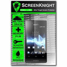 ScreenKnight Sony Xperia Miro SCREEN PROTECTOR invisible Military Grade shield