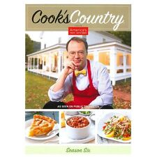 Cook's Country: Season Six DVD 2013 2-Disc Set New 345 Min 26 Recipe's PBS Tips