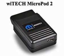 V17.03.10 For Chrysler wiTECH MicroPod 2 Diagnostic Tool Support Multi-Languages