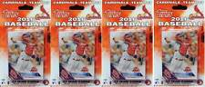 (4) 2016 Topps St. Louis Cardinals MLB Baseball 17 Card Team Set LOT