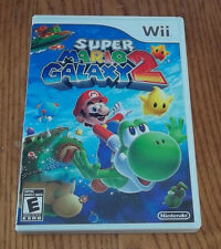 Super Mario Galaxy 2 Replacement Case and Manual, No game (Nintendo Wii, 2010)