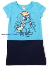 """MY LITTLE PONY """" CUTIE BEAUTY""""  GIRL'S DRESS WITH QUILTED BOTTOM  - SIZE 4-5"""