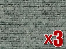 3 set of Porphyr Wall Cardboard - Vollmer 47369 - N decor - free post
