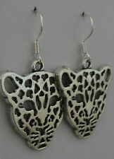 Beth loves leopards! earrings guitar rockabilly rock leopard print cat