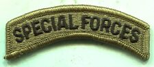 US Army Special Forces New MultiCam Patch Tab With Velcro