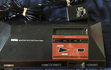Original SEGA Master System 1 with 6 Games Ninja,Soccer,F1,Olympics,teddy Bundle
