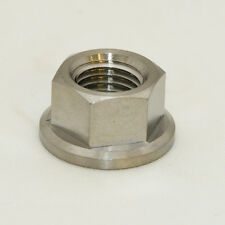 Titanium M10 x 1.25 rear sprocket nut 14mm socket, Ultralight Design CNC raceTi