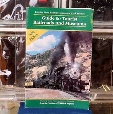 Guide To Tourist Railroads and Museums 1998 Edition From Trains Magazine