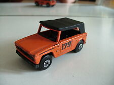 Matchbox SUperfast Field Car in Orange