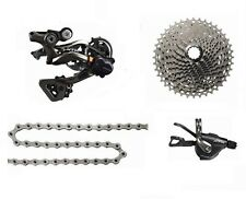 New SHIMANO XTR M9000 1x11 Speed MTB Groupset 4 pcs, XTR M9000 Groupset Gray