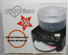 EZ Disc CD/DVD/ Blue Ray/Blank Media Simple One Push Dispenser 100 Discs