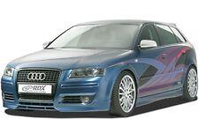 Frontspoiler Audi A3 8P Sportback Frontlippe Front Ansatz Spoilerlippe