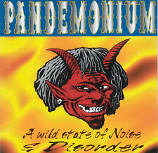PANDEMONIUM A Wild State Of Noise & Disorder FR Press Pandemonium PAN 003 CD