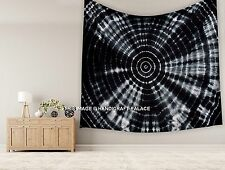 Tie Dye Shibori Mandala Tapestry Hippie Indian Wall Hanging King Size Bedspread