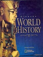 Glencoe World History, Glenco, McGraw-Hill, Acceptable Book