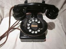 Western Electric Model 202 Oval-Base Telephone e/w 684-type Subset