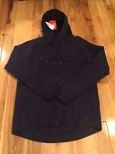 Nike NSW Tech Fleece Windrunner Obsdian Hoodie 805144-473 LARGE NWT ($130)
