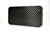 New Carbon Fiber Skin Back Cover for Apple iPhone 4 4G UK