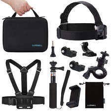 Luxebell KIT ACCESSORI per SONY ACTION CAM hdr-as15/20/30v/100v/as200v/SONY AC