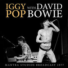 IGGY POP & DAVID BOWIE New Sealed 2016 UNRELEASED LIVE 1977 CONCERT CD