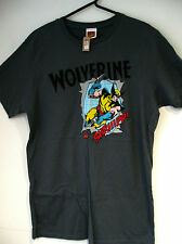 Marvel comics Wolverine t shirt grey small