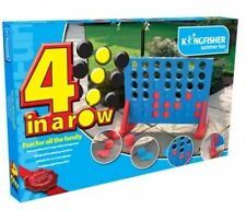 GIANT CONNECT 4 IN A ROW GARDEN OUTDOOR GAME KIDS ADULTS GREAT FAMILY FUN PARTY