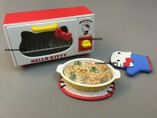 Re-ment dollhouse miniature Hello Kitty toaster oven gratin pot holder Sanrio