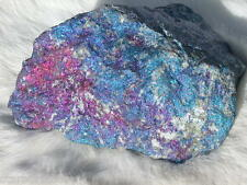 2.5 LB CHALCOPYRITE PEACOCK ORE DISPLAY DECOR PAPERWEIGHT MEXICO