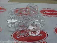 10 BROTHER BOBBINS for FRONT LOADING SEWING MACHINES
