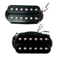 Bare Knuckle Juggernaut Misha Mansoor Alnico Ceramic Humbucker Pickups Black Set