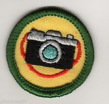 Retired Girl Scouts Junior Badge Patch~2000-2011~Camera Shots Photography