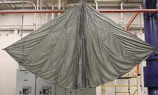 Rare? Gray? 24 foot U.S. MILITARY PARACHUTE T-10R Reserve NEW/OLD Stock
