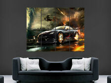 NISSAN GTR POSTER EVOLUTION SKYLINE FANTASY  FAST CAR  PRINT LARGE HUGE