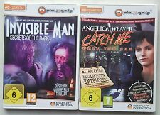 Angelica Weaver Catch me when You Can + Invisible Man Secrets of the Dark PC