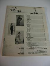 MOVIE PINUPS SEPT 1953 VOL 1,NO 5; ZSA ZSA; MORENO; KERR; MARILYN MONROE;RUSSELL
