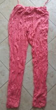 Lauren Vidal Leggings Gr. XL ( M / 40 , 42 38 ) Farbe coral RAR Made in France
