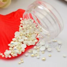 Mini Perle Nagelsticker 3D Nail Art Studs UV Gel Dekoration