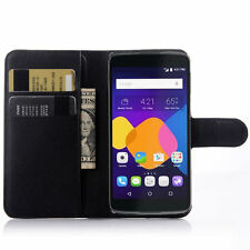 "HOUSSE ETUI COQUE CUIR LUXE PORTEFEUILLE A RABAT ALCATEL ONETOUCH IDOL 3 (5.5"")"