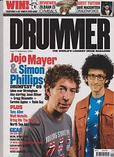 DRUMMER Magazine No 71 (September 2009), Jojo Mayer & Simon Phillips