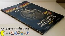 Mortal Kombat 4: Official Arcade Secrets Revision 2 - Bradygames Strategy Guide