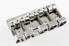 Gotoh Quick Release 5 String Bass Bridge CHROME with Mounting Screws, 510 WIDE