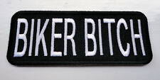 P2 Biker Bitch Motorcycle Funny Humour Iron Patch Laugh Joke Biker