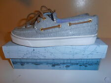 SPERRY TOP SIDER SHOES SIZE 5.5 GREY 100% AUTHENTIC NICE & CHEAP!